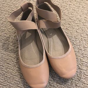 Kimchi Blue nude ballet flats (Urban Outfitters)